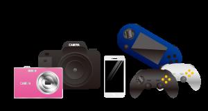 カメラ・スマホ・ゲームの買取対象品の画像