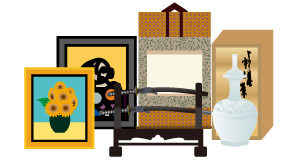 絵画・骨董品の買取対象品の画像