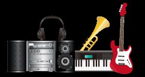 オーディオ・楽器の買取対象品の画像