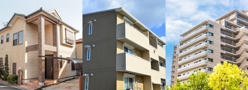戸建・アパート・マンションの画像